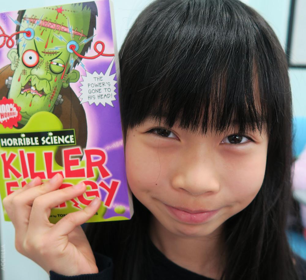 TiffanyW redeemed her rewards card for a copy of 'Killer Energy'.