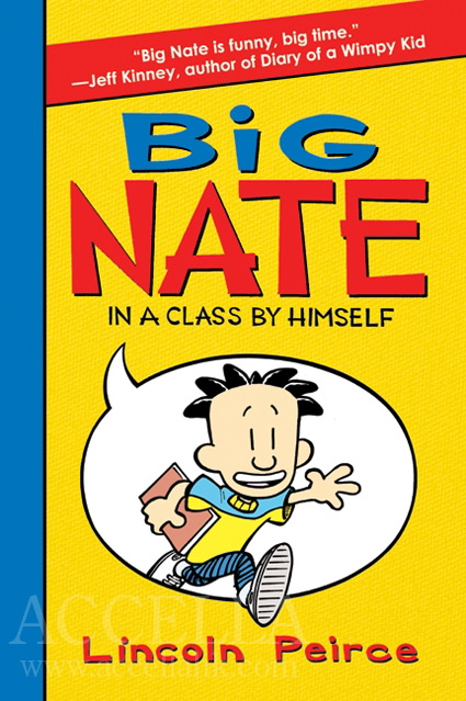 Cover of 'Big Nate: In a Class by Himself'.