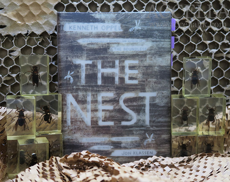 We're reading Kenneth Oppel's chills-and-thrills-packed middle grade novel 'The Nest'.